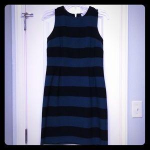 Pretty, striped sheath dress